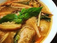 沙茶魷魚肉羹湯