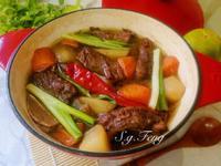 蘿蔔燉牛肉