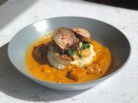 泰式黃咖喱嫩煎豬排