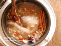 韓式藥膳蔘雞粥_電子鍋料理