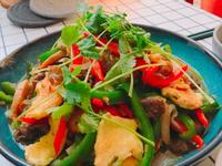 《豐富版》青椒炒牛肉片