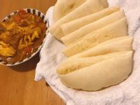 Pita口袋餅 搭配咖哩神美味啊!