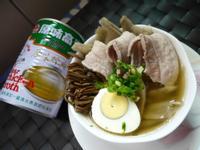 牛蒡茶樹菇湯(牛頭牌原味高湯)