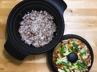 紅藜麥飯+豆腐乳蒸雞