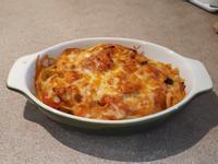 海鮮茄汁焗意粉