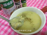 洋蔥蛤蜊濃湯(不加勾芡粉版)