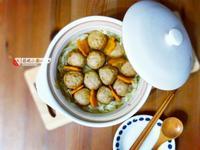 大白菜雞肉丸【電鍋料理】