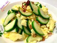 雞蛋海米炒西葫蘆
