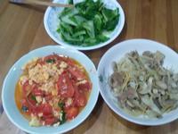 薑絲洋菇煸肉-銅板價食材