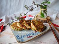香菜蝦肉餅