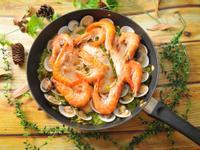 讓孩子愛上青菜的青醬海鮮燉飯