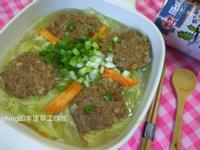 少油料理─白菜煨肉丸子