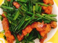 三層肉韭菜花