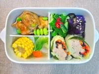 炒鮮蔬高麗菜肉卷
