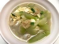 👨🏻🍳蒲瓜雞蛋湯-使用火鍋湯底包