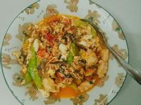 番茄雞蛋豆腐燴雞肉