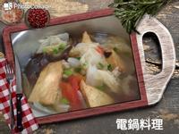 蕃茄白菜油豆腐湯