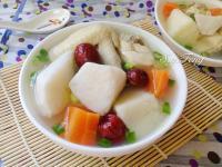 紅棗山藥雞湯