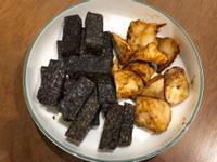 烤杏鮑菇&豬血糕 (飛利浦氣炸鍋)