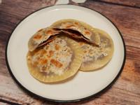 豆沙鍋餅(水餃皮變身)