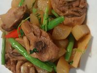 子薑蘿蔔燒雞