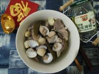 剝皮辣椒蒜鮑菇蛤蜊排骨湯【豆豆愛的料理】