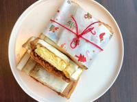 厚蛋肉鬆三明治~簡易版