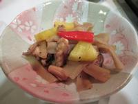 干瓢章魚乾鳳梨