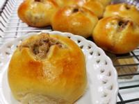 蘑菇炒肉燥~鹹味手撕麵包  ~派對鹹點