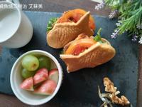 鯛魚燒三明治~鬆餅機