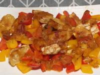 彩椒天貝……烤味噌