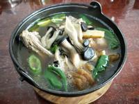 醬鳳梨青龍椒鮮菇排骨湯