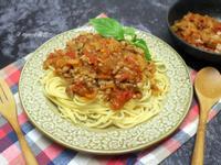 番茄肉醬義大利麵(肉燥變化版)