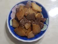 脆炒白蘿蔔牛小排