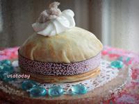 【甜牙齒】層層都是藝術 - 芋泥千層蛋糕 Taro Puree Crêpe Cake