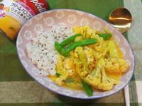 南瓜雞肉蔬菜燴飯