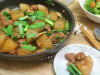 蒜苗蘿蔔燒肉