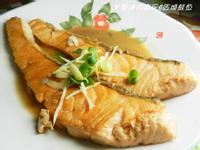 ㄚ曼達的廚房~紅燒鮭魚