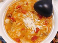 蕃茄羅宋湯。零廚藝