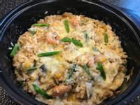 《起司海鮮燉飯》濃郁鮮蝦蛤蜊高湯版
