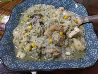 青醬雞肉燉飯