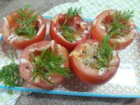 年節上大菜-起司蕃茄盅(素食)