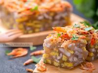 櫻花蝦地瓜芋頭籤水晶粿【鹹香好滋味】