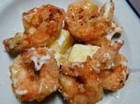 鳳梨蝦球~輕鬆年菜