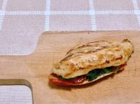 增肌減脂《菠菜番茄雞胸堡》