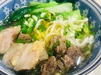清燉半筋半肉湯(麵)&牛骨湯 廚房的旋律