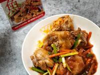 《李錦記年菜》下酒菜~魚香茄子醬炒雞腿肉