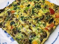 鮮蔬菠菜烘蛋(7吋烤盤)