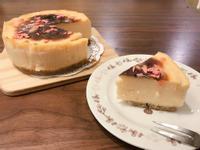 草莓巧克力卡士達布丁蛋糕