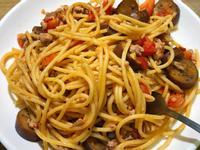 茄子番茄肉醬義大利麵